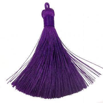 Large Purple Tassel